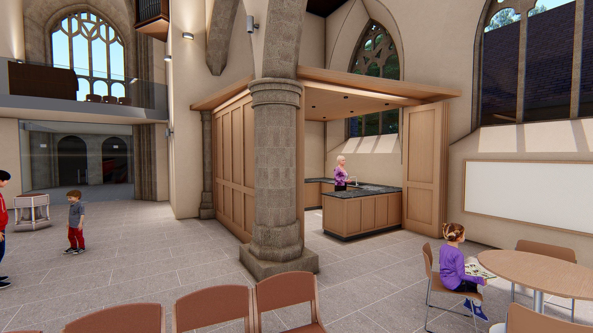 Church Kitchen and Servery