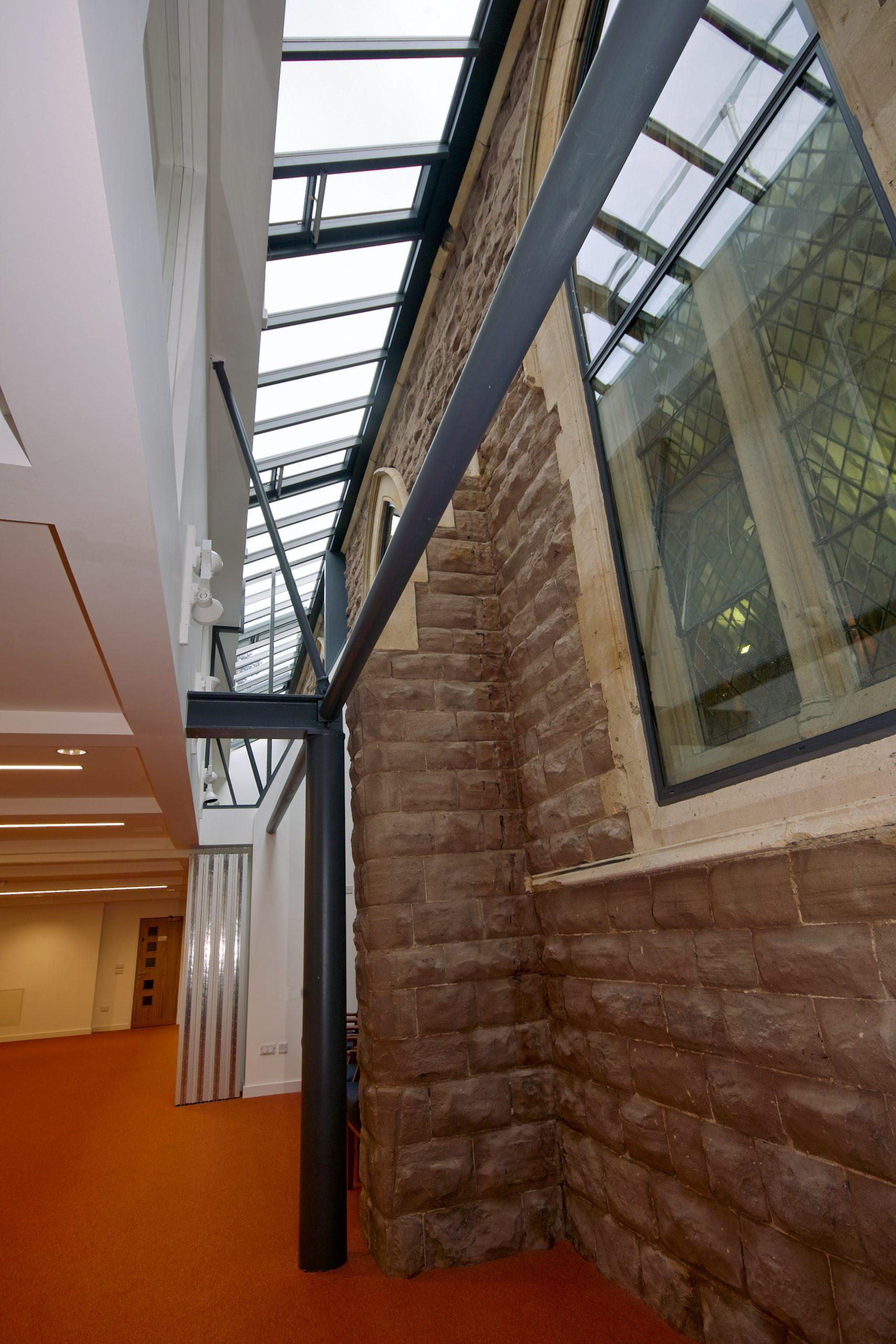 New Extension interior St Stephens